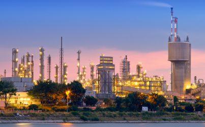 zone industrielle du domaine chimie et pétrochimie