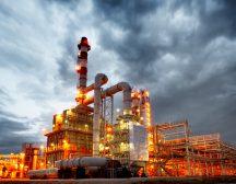 Installation industrielle pétrolière